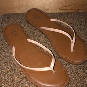 Tan Flip-Flops